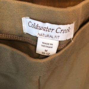 Cold Water Creek Pants - Cold Water Creek pull into Elastic Waist pant